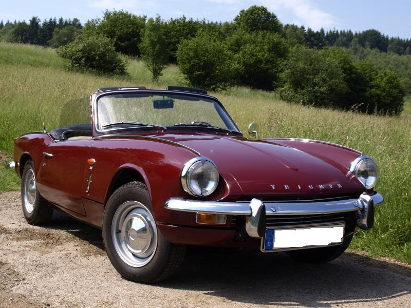 International Triumph Spitfire Database